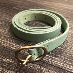 Sz M JCrew leather belt